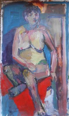 Carole 2016 . 48 x 81 cm