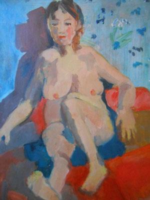 Carole - 2014 - 55 x 38 cm