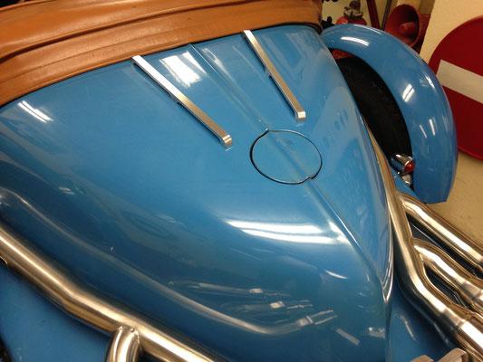 porte bagage aluminium bouchonné bugatti excalibur collection