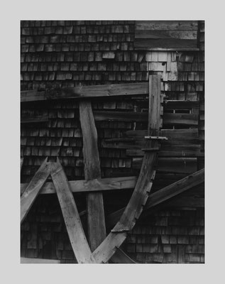 Boat Ribs and Shingles, Gloucester MA (RV), 1958