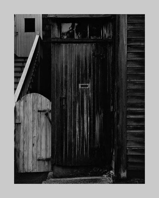 Door and Stairs, Marblehead, 1958