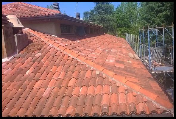 Rifacimento tetto e facciata: visione tetto