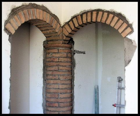 Realizzazione archi in mattoni benvenuti su emaxcostruzioni for Arco in mattoni a vista