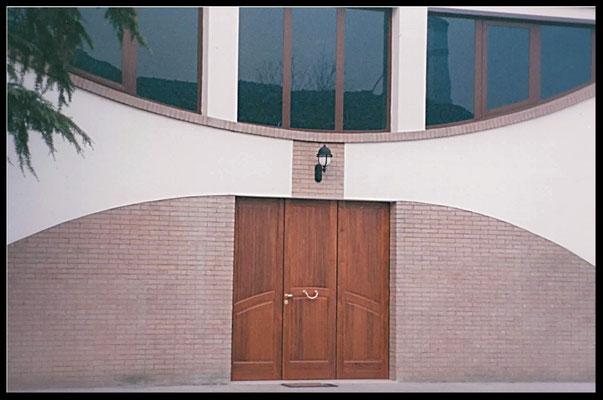 Rifacimento facciata chiesa: visualizzazione frontale