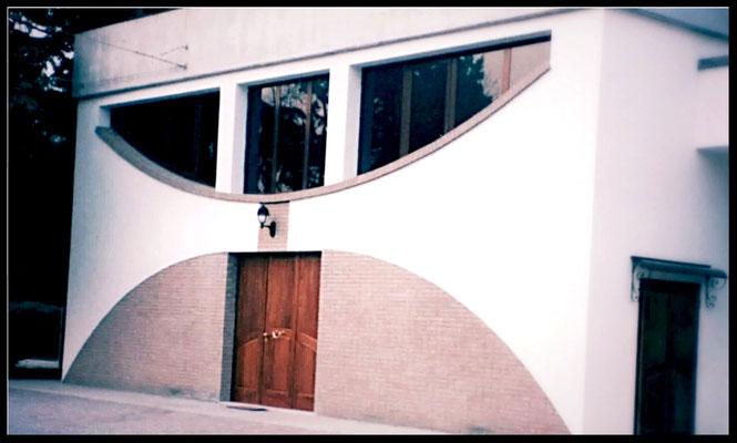 Rifacimento facciata chiesa: visualizzazione laterale