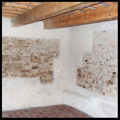 Rifacimento muro della chiesa: dopo l'intervento