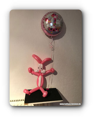Hase aus Luftballon