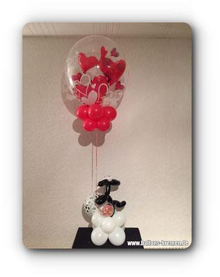 Ballongeschenk für Hundeliebhaber