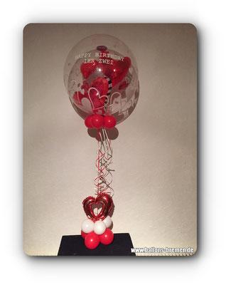 Liebe Ballongeschenk