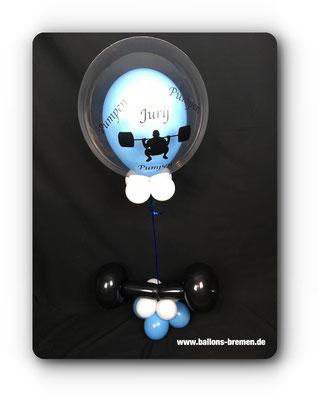 Luftballon für einen Jumper