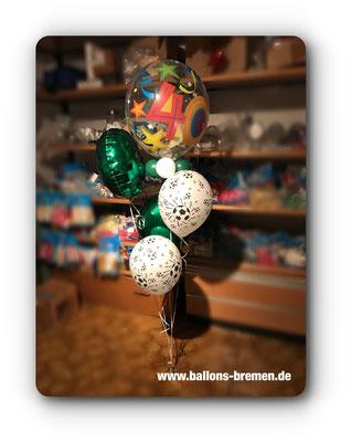 Geschenk aus Luftballons zum Geburtstag
