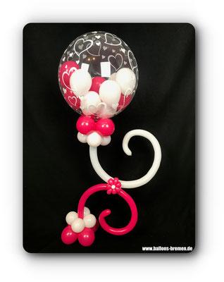 Luftballon für die beste Freundin