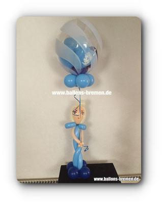 Anna von Frozen aus Luftballons