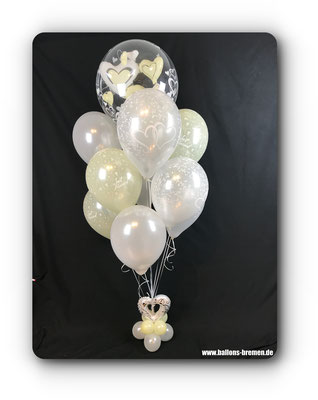 Wedding Ballon - in weiß und creme