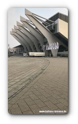 Die ÖVb-Arena von außen