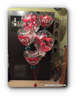 Big Love - das große Ballongeschenk zur Hochzeit