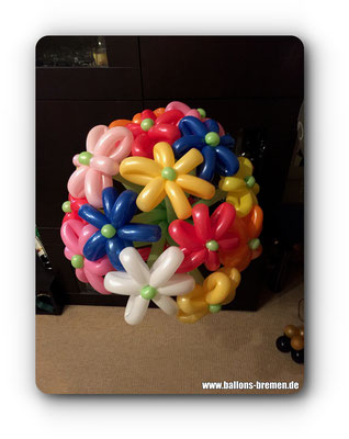 Blumen aus Ballons