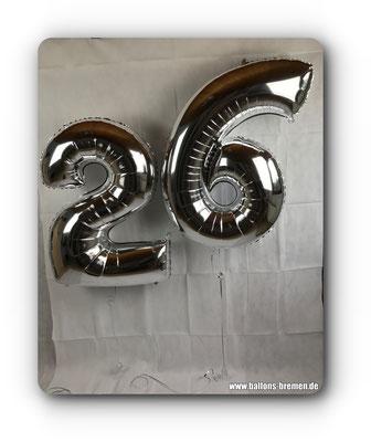 Folienzahl 26 zum Geburtstag