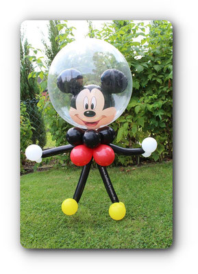 Micky Maus mit Körper