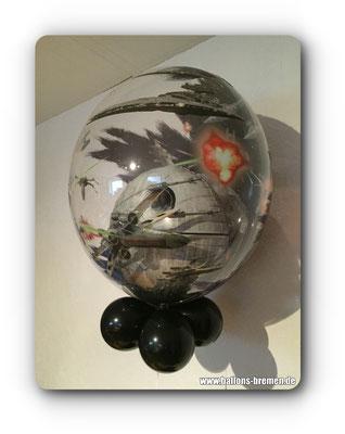 Todesstern - Ballon in Ballon