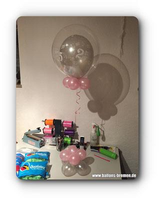 Luftballongeschenk zum 25. Geburtstag
