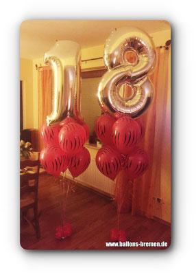 Alles Gute zum 18. Geburtstag