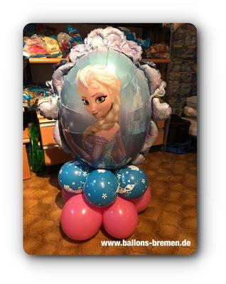 Anna Folienballon mit Luft