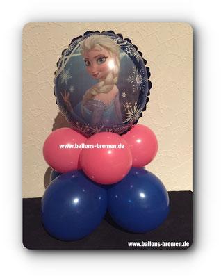 Elsa als Folienballon
