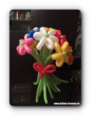 Blumenstrauß aus Luftballons