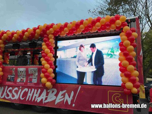 Freimarktsumzug 2018 - Ballongirlanden