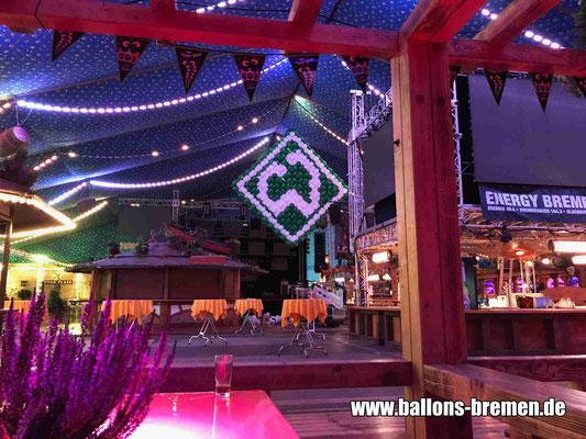 Logo Sportverein Werder Bremen im Hansezelt Bremen