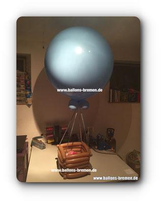 Gutschein für einen Ballonflug im Heißluftballon