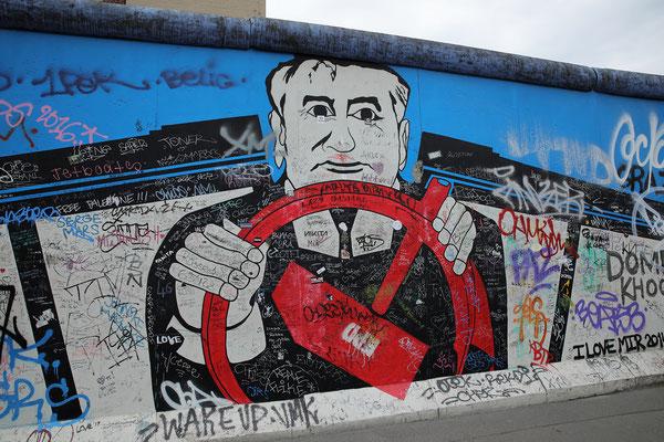 """""""Street-Art  à Berlin""""  cliché réalisé par  Gilles"""