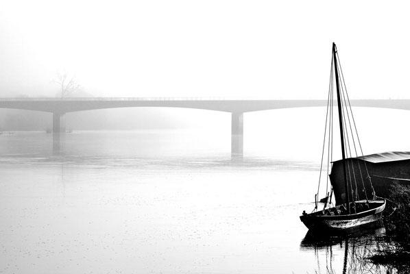 """"""" Brouillard de Loire """"  cliché réalisé par  Thierry"""