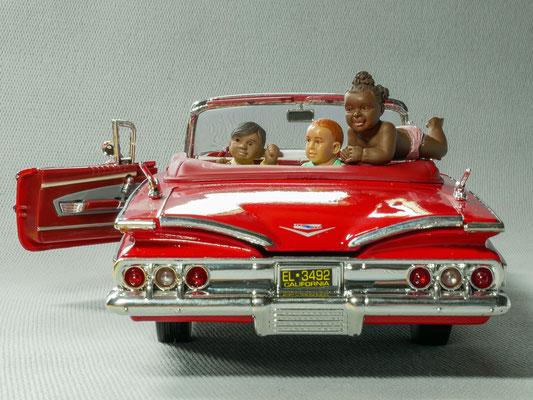 """""""Ballade en Chevrolet Impala 1960 """"  par  Dominique Leroy"""