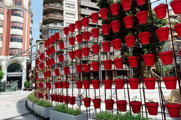 """""""Les pots rouges""""  vus par  Jacques Pianasso"""