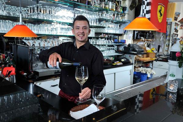 Ristorante Osteria Liguria, Wein und italienisches Essen