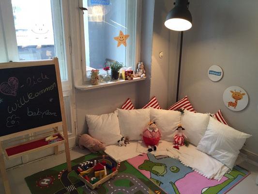 Eltern Blogger Café mit dm babylove