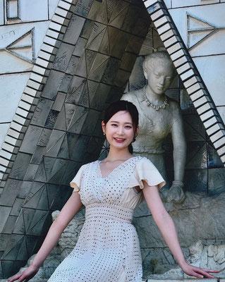 北國写真連盟小松・能美支部長賞 微笑み 松木賢二