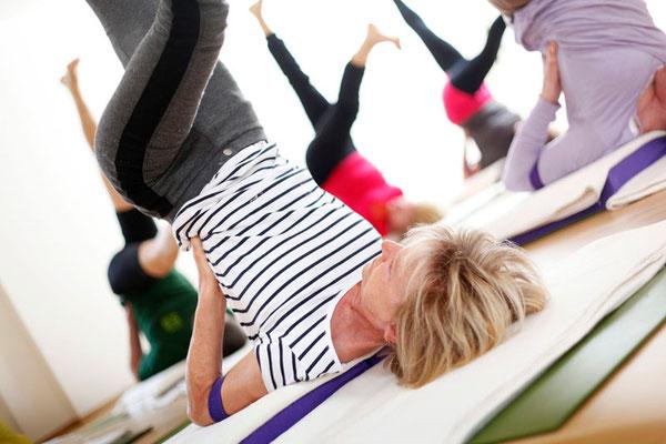 Hatha Yoga, Shalamba Sarvangasana, Schulterstand