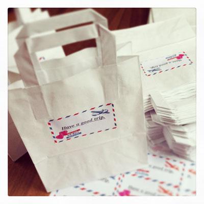 Giveaways für die Gäste | www.gleichundgleich.com