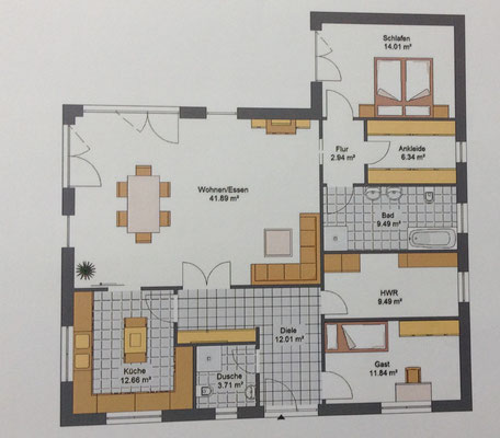 Anbau An Bungalow bungalow 125 anbau massivhaus oder ein fertighaus das beste aus