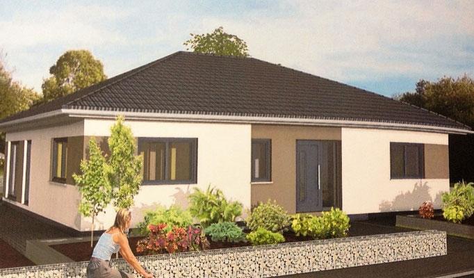 bungalow 125 anbau massivhaus oder ein fertighaus das beste aus zwei welten. Black Bedroom Furniture Sets. Home Design Ideas