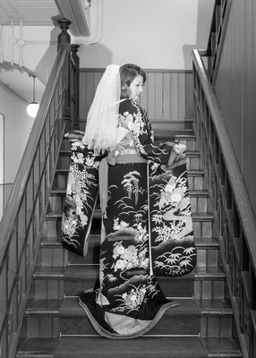 四高記念文化交流館と花嫁