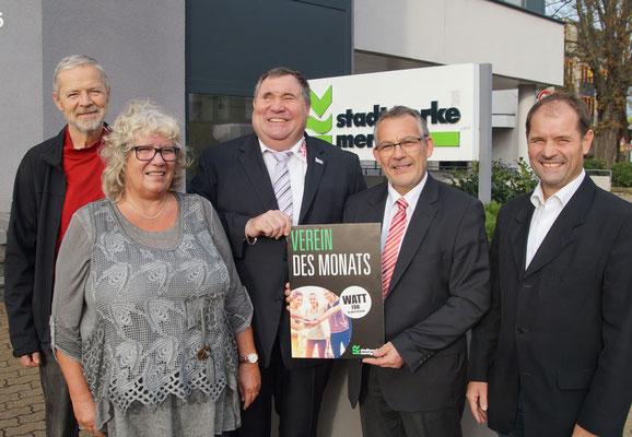 Stadtwerke Merzig GmbH zeichnen Herzensengel e. V. als Verein des Monats aus