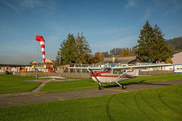 Flugplatz Beromünster schnupperflug