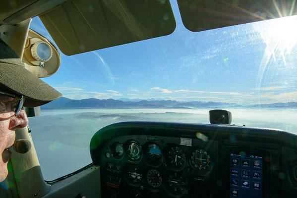 Cockpit  Flugzeug