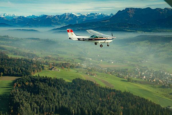 Schnupperflug Schweiz