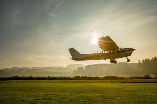 Start Flugzeug