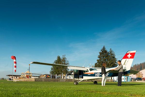 Flugzeugrundflug